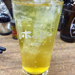 まくら とよかつ - 緑茶割り
