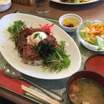 NICE - 淡路牛と淡路玉ねぎのキーマ丼