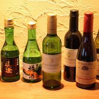 志乃ざき - 日本酒だけでなくワインもございます。