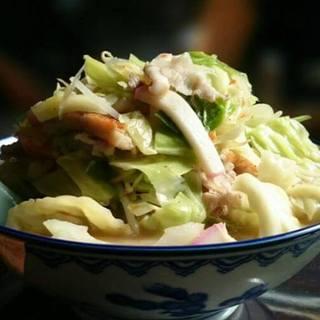 宝来軒 - 料理写真:長崎ちゃんぽん 並盛