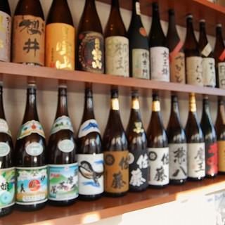 ◆珍しい銘柄もたくさん!お酒好きの方にもぴったり。