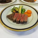 のざき牛黒毛和牛フィレ肉ステーキ(100g)ランチA5ランク