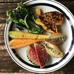 喃喃 - 温有機野菜の盛り合わせ