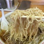 竜園 - サンマーメンの麺