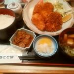 海鮮料理魚春とと屋 - ミックスフライ定食 800円ランチ