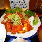 4618651 - 鶏のチリソース炒め定食