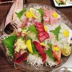 和食、日本料理「南房」 - お刺身盛り合わせ