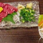 和食、日本料理「南房」 - 馬刺しと箸休め