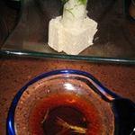 Bagus - 麻の実豆腐とお醤油