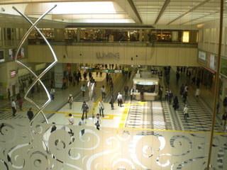 スターバックス・コーヒー ルミネ大宮 LUMINE2店 - カウンター席から見た風景。
