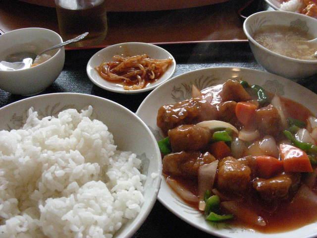 中国料理 興龍飯店 - 酢豚セット