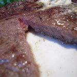 肉料理の八段 - 好い焼き加減です