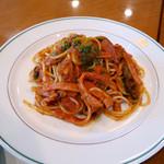 ザ・カフェ - スパゲティナポリタン ¥1,700
