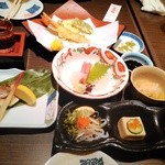 味楽座 - 新春セット2016円(食べかけですみません)