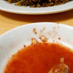 福満園 - アサリ料理にちっちゃなカニ!
