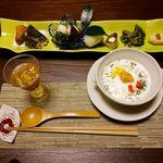 山荘 わらび野 - 夕食