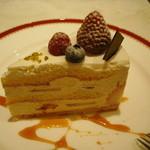 パリ21区 - 苺のケーキ