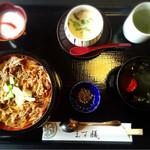 日本料理 ます膳 - 和牛ちらし御膳    950円