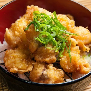 ご当地グルメ三原のたこ天丼750円