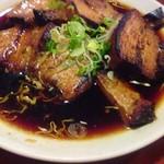 立飲山 - 自家製チャーシュー¥450  ※1こ食べた後