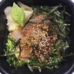 海鮮づくし丼丸 - 胡麻かんぱち丼