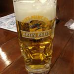 鈴徳 - 生ビール
