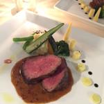 ビストロアーブル・ド・パン - 赤牛のステーキ