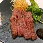 八新鮨 - 佐賀牛の炙り