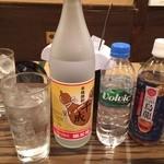 魚のうまい店 ひろちゃん - 千成オリジナル焼酎を水割り&ウーロン割