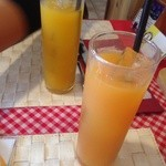 Cafe BIGOUDENE - マンゴー、トロピカルジュース