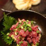 とめ手羽 - 鶏ポン酢餃子 580円