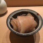 鮨さゝ木 - ガリ