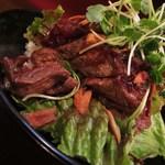 46215947 - ステーキ丼(大盛り)