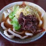 ひがしうら - 肉うどん(550円)