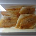 泊いゆまち - アブラカレイ・バター焼き500円