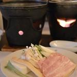 Nozomi - 2016/01 豆乳鍋   昼のおまかせコース 2,000円