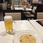 36スパイス - 生ビール&パパドゥ