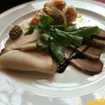 ファームイン - パスタセット 前菜