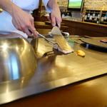 ステーキ・鉄板料理和かな - 開始~
