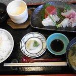 食処たつみ - 刺身定食