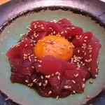 うまい鮨勘 - マグロユッケ