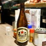 ブビタミン - 2016.1 サッポロ赤星中瓶(590円)