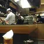 和食と立喰い寿司 ナチュラ - 店内の様子