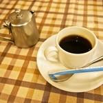 はり重カレーショップ - ミックス定食(デミコーヒー)