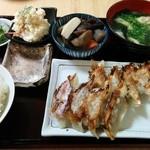 もへじ - 餃子定食 550円