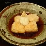 46224397 - ごま豆腐のあげだし