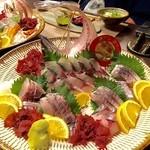 いで湯の宿 丸神屋 - 料理写真:ウォォォォ~!関アジ~!