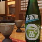 割烹 魚政 - (2015/12/23)生酒 一品[水戸市]
