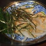割烹 魚政 - (2015/12/23)いか納豆