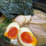 蔵前家 - チャーシューめん+味玉1000円